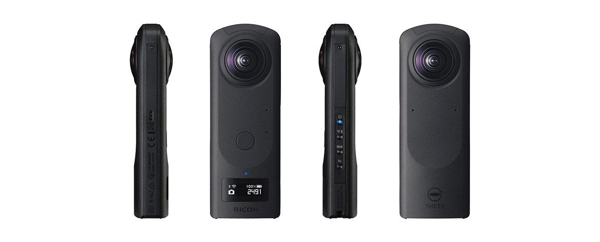 Cámara de vídeo 360 grados